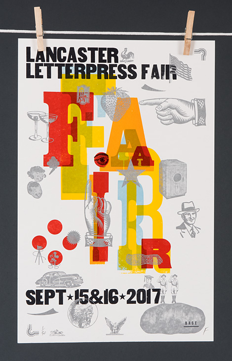 Lancaster Letterpress Fair 2017 - 2