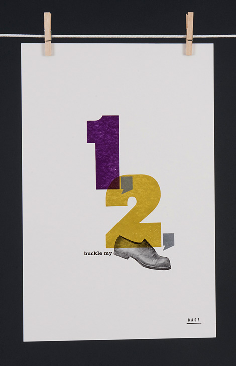 1, 2, buckle my shoe - 1