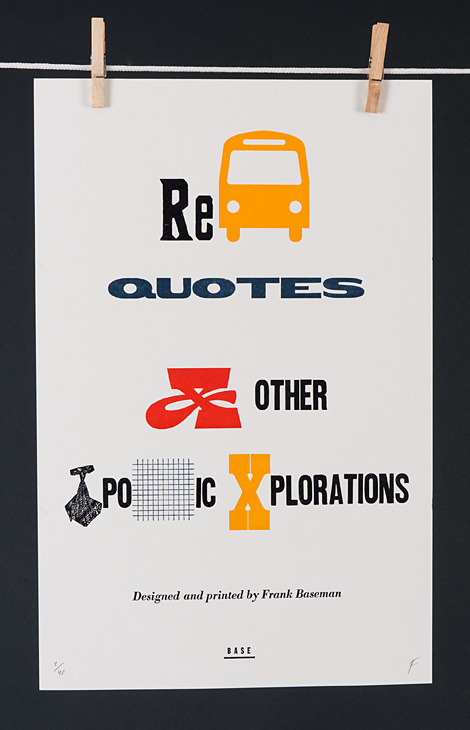 Rebus Quotes and Other Typographic Explorations - 1