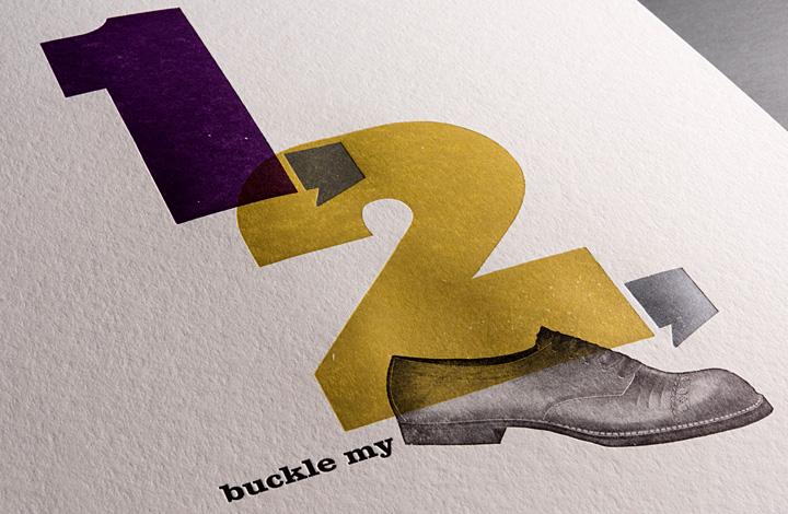 1, 2, buckle my shoe - 2