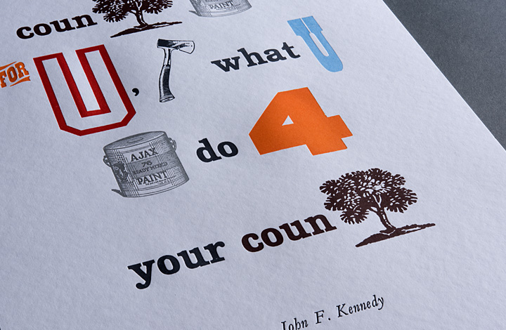 Ask not what your country can do for you, ask what you can do for your country - 3