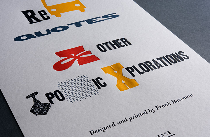 Rebus Quotes and Other Typographic Explorations - 2