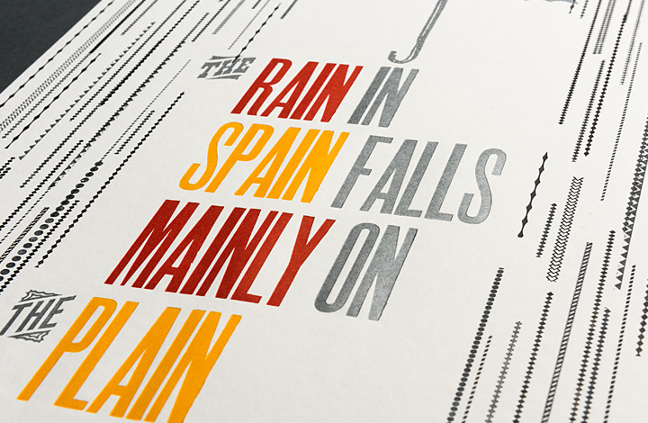 The rain in Spain falls mainly on the plain - 3