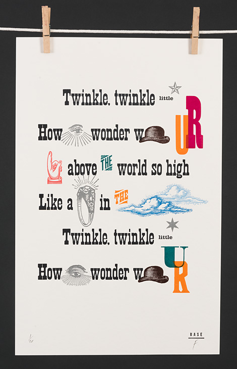 Twinkle, twinkle little star how I wonder what you are - 1