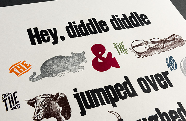Hey, diddle diddle the cat and the fiddle - 2