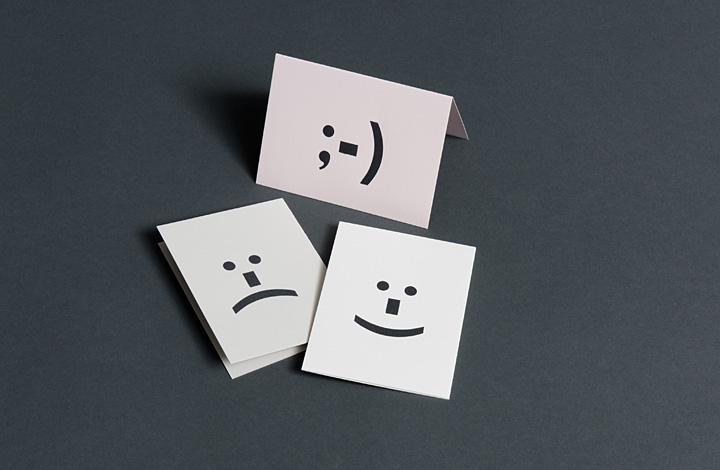 Woodtype emoticons - 1