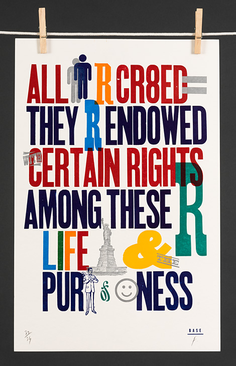Life, liberty and the pursuit of happiness - 1