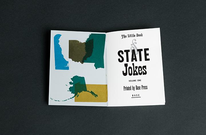 The Little Book of State Jokes, Volume 1 - 2