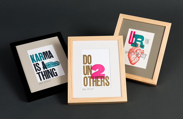 8 x 10 framed prints - 1