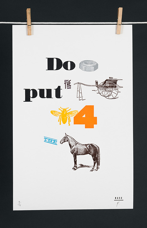 Do not put the cart before the horse - 1
