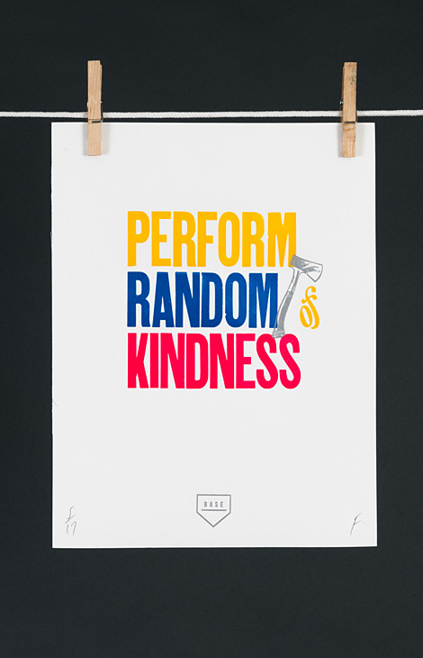 Perform Random Acts of Kindness - 1