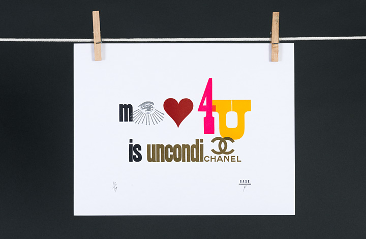 My love for you is uncondi-chanel - 1