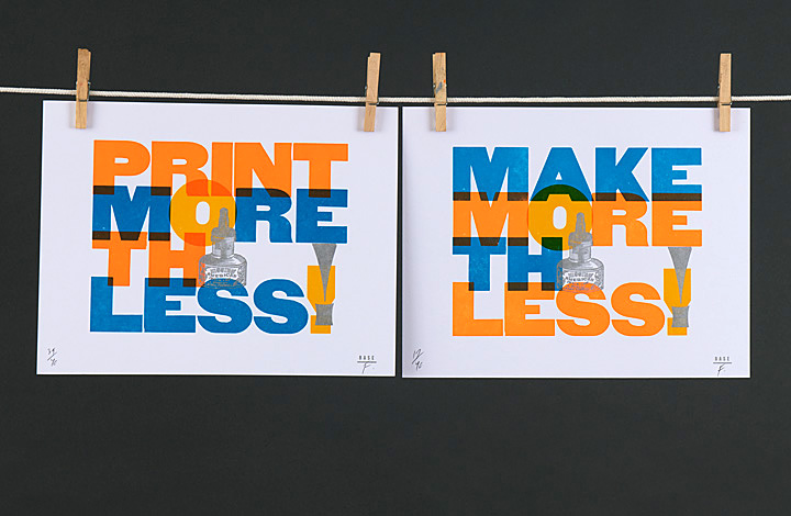 Make More Think Less / Print More Think Less - 1