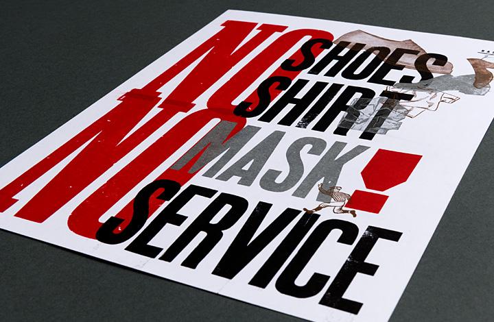 No mask no service - 1