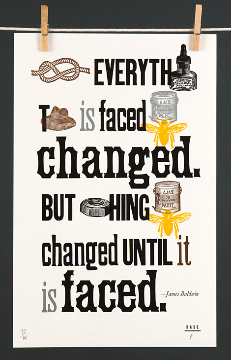 Not Everything That is Faced Can Be Changed. But Nothing Can Be Changed Until it is Faced. - 1