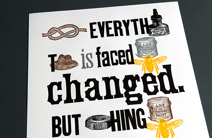 Not Everything That is Faced Can Be Changed. But Nothing Can Be Changed Until it is Faced. - 2