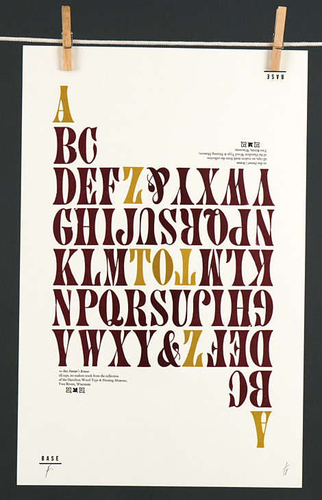 Type Specimen: Painter's Roman - 1