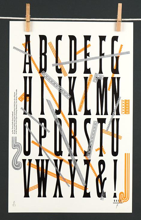 Type Specimen: Tuscan Gothic Extra Condensed - 1