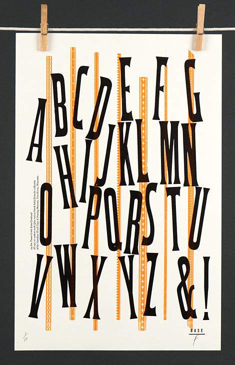 Type Specimen: Tuscan Gothic Extra Condensed - 2