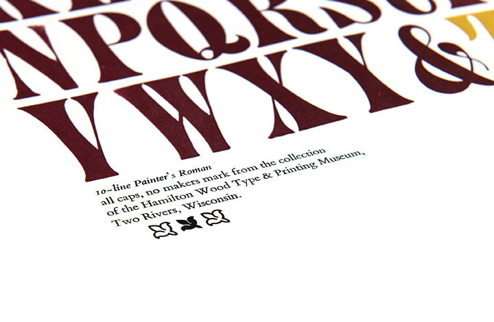Type Specimen: Painter's Roman - 4