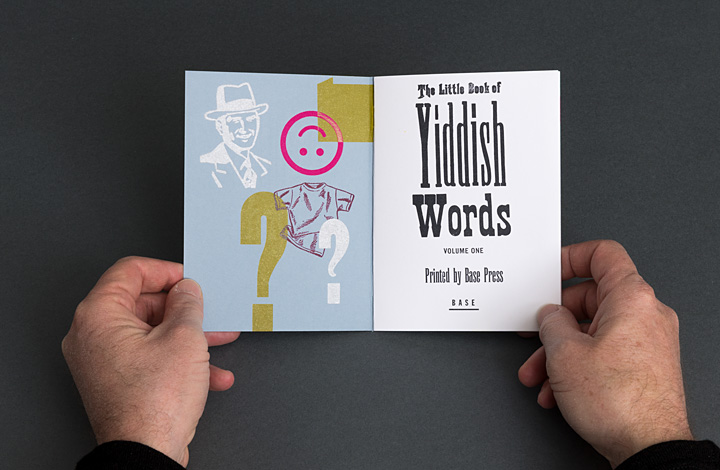 The Little Book of Yiddish Words, volume 1 - 2