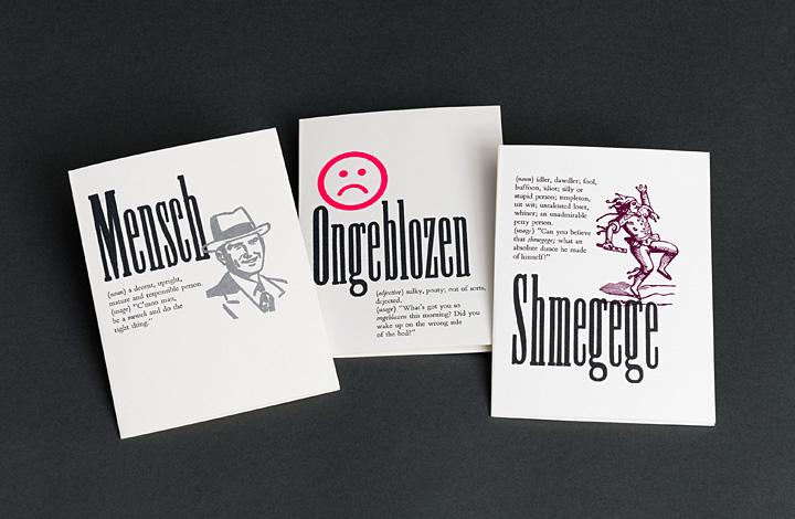 Yiddish Word Cards - 1